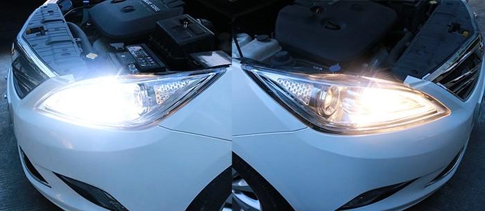 6500K White LED Headlight Kit