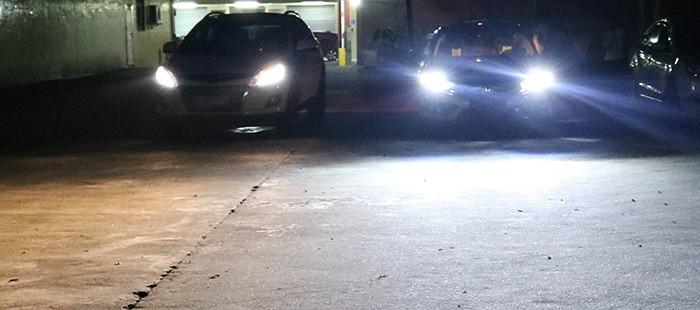 LED Headlight Halogen